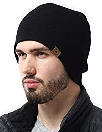 Daily Knit Beanie - Warm, Stretchy & Soft Beanie Hats for Men & Women - Year Round Comfort - Serious Beanies for Serious Style
