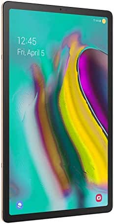 Samsung Galaxy Tab S5e 128 GB Wifi Tablet  Gold (2019) - SM-T720NZDLXAR