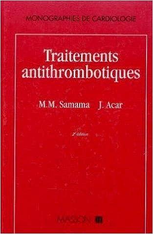 Livres Traitements antithrombotiques pdf