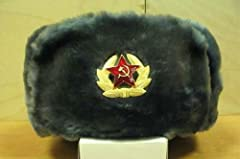 Faux-fur Russian winter Ushanka hat, inside it has black satin and is well padded. 3 ways to wear. It has flaps on the side and back that come down to cover your neck. It's perfect for men, women, and kids.