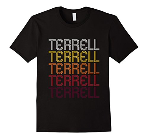 Men's Terrell, TX | Vintage Style Texas T-shirt Large - Texas Terrell