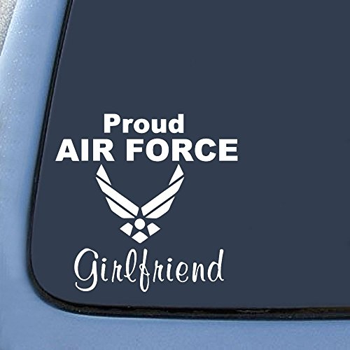 Air Force Girlfriend Sticker Decal Notebook Car Laptop 6