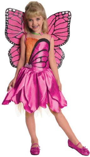 Mariposa Barbie Costume (Barbie Mariposa Toddler/kids Costume deluxe)
