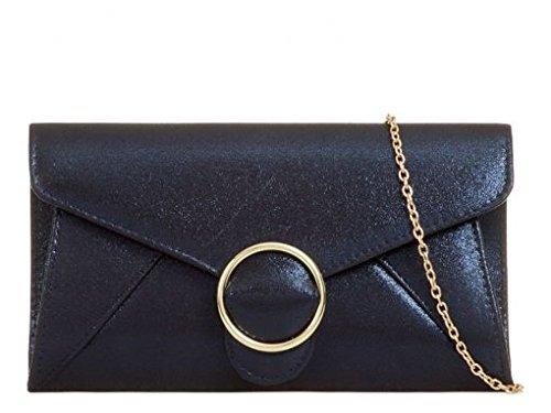 Leather Leahward Bag Bridal's Purses Silver Handbags Wedding Faux Cross Body Clutch Women's TqqWnwUxEO