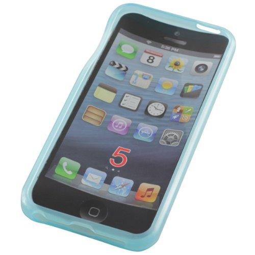 OTB TPU Case Compatible avec l'iPhone 5/iPhone 5S Bleu clair