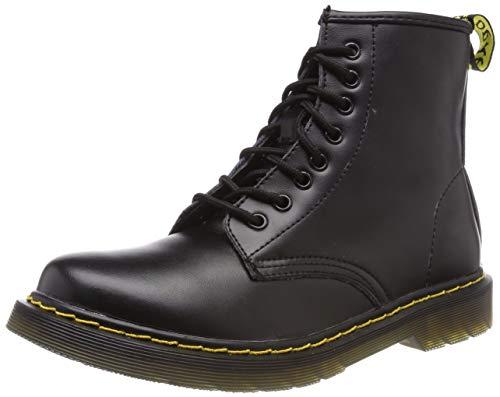Stivali Classici Donna Stringate Inverno Impermeabile Nero Uomo Stivaletti Boot Moda pelliccia Caviglia Pelle wggqXn1aB