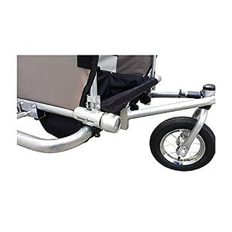 Remolque de bici para niños con kit de footing BICICLETAS Y PIRULETAS 5