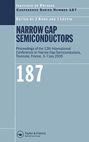 Narrow Gap Semiconductors: Proceedings of the 12th International Conference on Narrow Gap Semiconductors (Institute of Physics Conference Series Book -