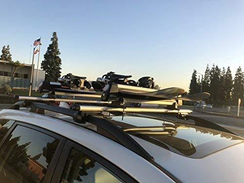 SnowRack Max Rooftop Ski Fit 6