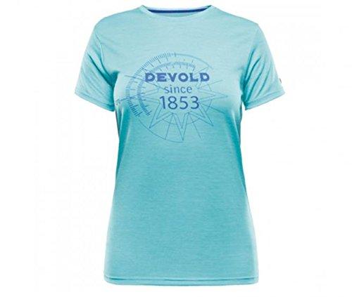 T-Shirt Merino Breeze Damen bay Devold