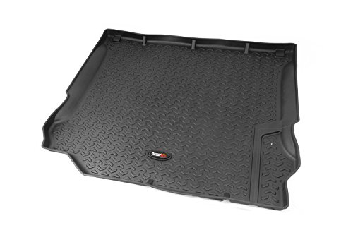 Jeep Cargo Mat - Rugged Ridge All-Terrain 12975.03 Black Cargo Liner For 2011-2018 Jeep Wrangler JK and JKU Models