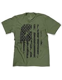 Patriotic American Flag Distressed USA Pride T-Shirt