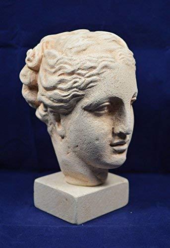 Estia Creations Hygieia Health Sculpture Head Bust Ancient Greek Goddess of Health (Sculpture Head Bust)