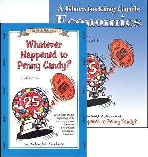 - Bluestocking Whatever Happened to Penny Candy? SET with Book and Guide