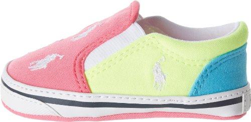 Ralph Lauren Layette Bal Harbour Repeat Slip-On Sneaker (Infant/Toddler)
