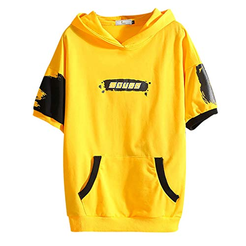 (CBTWear Dadman - Super Dadman Bat Hero Funny Premium Men's T-Shirt Yellow)