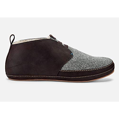 Dark Men's Moloa Slipper OLUKAI Roast Dark Roast Mid w4ZUUxfq1