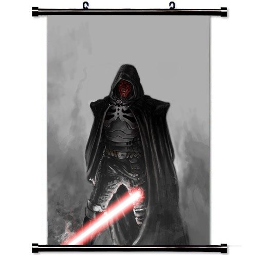 Home Decor Art Movie Poster with Sith Marauder Star Wars The