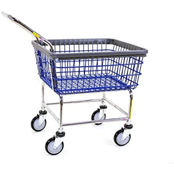 Amazon.com: R&B Wire 200F Large Capacity Laundry Cart: Industrial ...
