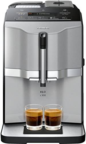 Siemens EQ.3 s300 Independiente Máquina espresso 1,4 L Totalmente ...