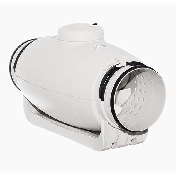 S&P TD-800/200 Silent - Ventilador de tubo insonorizado, 880/700 ...