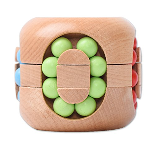 VolksRose 3D Wooden Brain Teaser Puzzle #39 - Interlocking Jigsaw Puzzles  for Teens and Adults - Challenge Your Logical Thinking