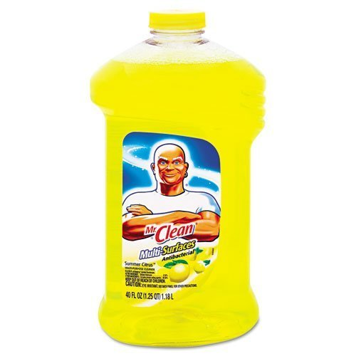Mr. Clean Multi-Surfaces Antibacterial Liquid Cleaner-Summer Citrus-40 oz. Pack of (Antibacterial Multi Purpose Cleaner)