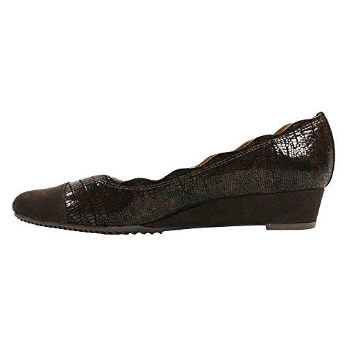 On Women's J Slip Chocolate Renee Leather Fedosia Shoe 1TvxIwA