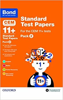 Book BOND 11+: CEM STANDARD TEST PAPERS PK 2 by Michellejoy Hughes (2015-03-05)