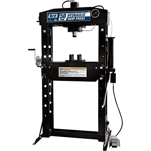 Torin Professional Shop Press - 50-Ton Capacity, Includes Winch, Model# TY50028 by Torin Jack