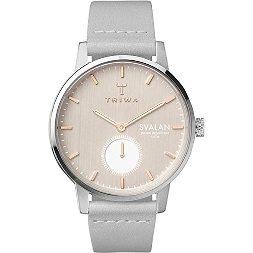 Triwa Svalan Watch - Women's Blush Svalan/Grey Classic Super Slim, One Size