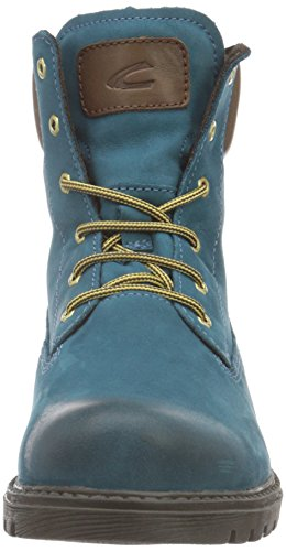 camel active Outback Gtx 72, Botines para Mujer Verde (petrol/bison 13)