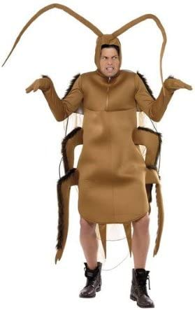 SMIFFYS Disfraz adulto cucaracha- Talla única + Disfraz de adulto ...