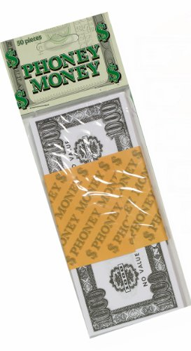 Forum Novelties Phoney Play Money $100 Bills (50-Pack)]()