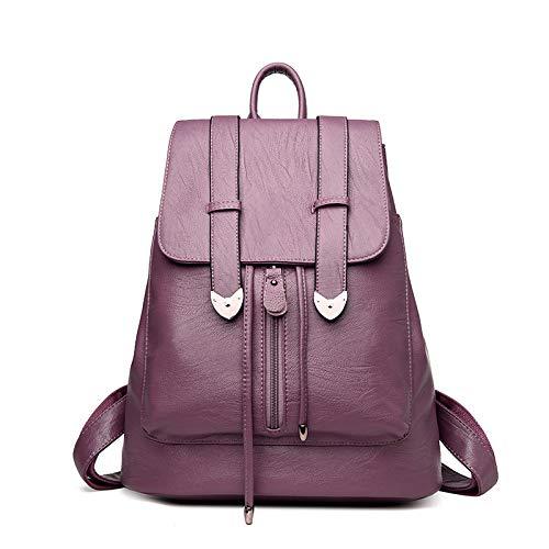 hombro XULULU bag Outdoor Violeta minimalista Deportes bolsa Shoulder Single Bag satchel Ocio de 44pqw