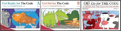 Explode the Code A, B, and C with Key (Get Ready, Get Set, Go for the Code) Homeschool Kit in a Bag