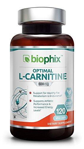 *Flash Sale* L Carnitine Optimal 500 mg 120 Vcaps Exp 05 2018 Energy | Cardiovascular Health | Lean Muscle | Antioxidant | Weight Loss | Lean Muscle | Energy | Endurance | Mental Clarity | Focus
