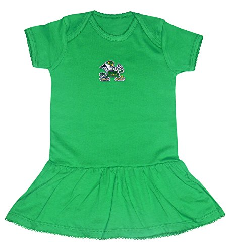 [Notre Dame Irish Green Dress| Size| 6-9M] (College Girls In Costumes)