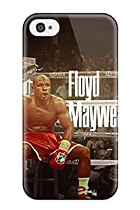 Durable Protector Case Cover With Mayweather Hot Design For Iphone 4/4s