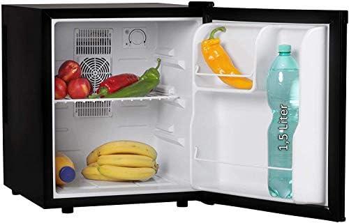 小型冷蔵庫40L飲料クーラー/ブラック/低ノイズ(エネルギー効率クラスA)