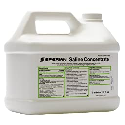 Eye Wash Saline Concentrate, 180 oz.