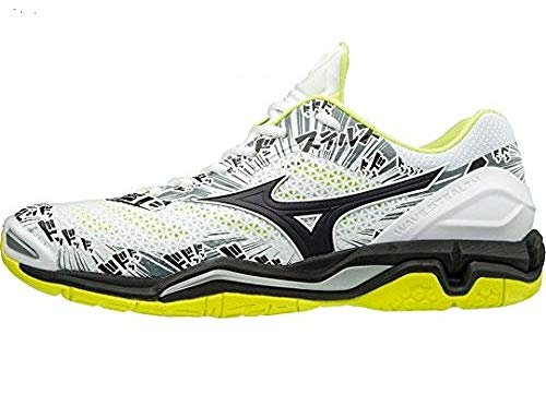 Sneakers Mizuno Wht Blk Multicolore Yellow Homme Stealth V Safety Basses 001 Wave x6qw6UHO