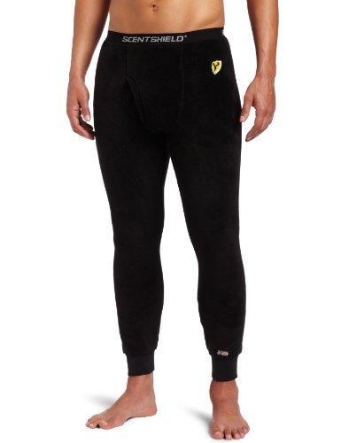 SCENT SHIELD Men's S3 Arctic Wt. Baselayer Pant, Black, X-Large