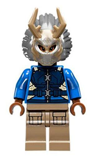 LEGO Marvel Killmonger with Tribal Mask 2018 The Black Panther