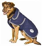 Weatherbeeta Landa Deluxe Dog Blanket – Navy/silver, 32