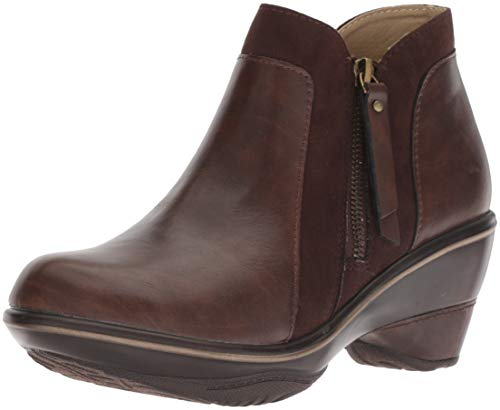 JBU by Jambu Women's Pilot Encore Ankle Boot, Brown, 8.5 Medium ()