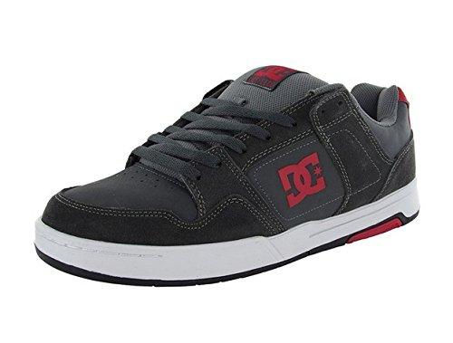DC Skateboard Shoes HACKER DARK SHADOW/WHITE Size 10