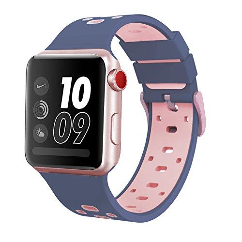 Silicone iWatch Wristband Sports Midnight