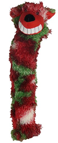 Party Pets Christmas Squeak Toy (Tie Die Dog)