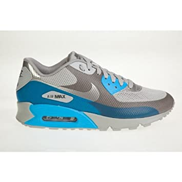 Top qualität Nike Air Max 90 Schuhe Hyperfuse Weiß Hellblau